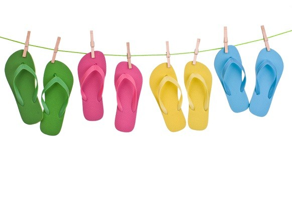 flip flops   fun in the sun but not for your feet